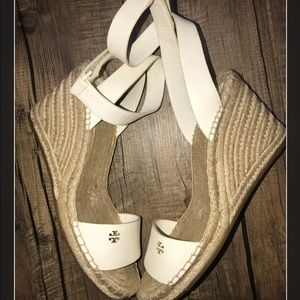Tory burch bima wedges